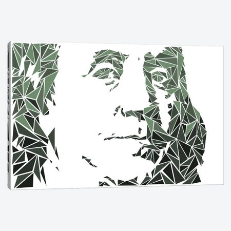 Benjamin Franklin Canvas Print #MIE12} by Cristian Mielu Canvas Wall Art