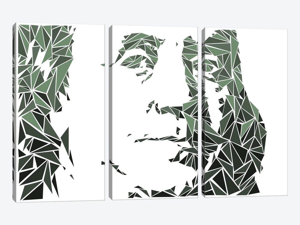 Benjamin Franklin by Cristian Mielu 3-piece Art Print