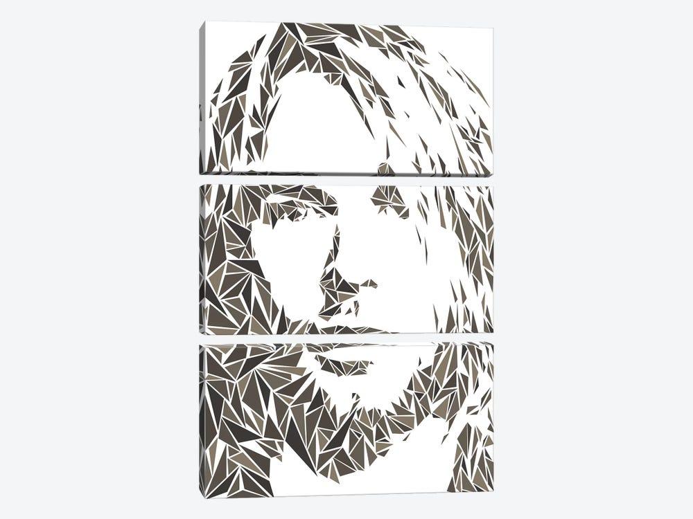 Cobain by Cristian Mielu 3-piece Canvas Print