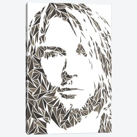 Cobain Canvas Print #MIE132} by Cristian Mielu Canvas Art