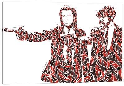 Pulp Fiction - Two Pistols Canvas Art Print