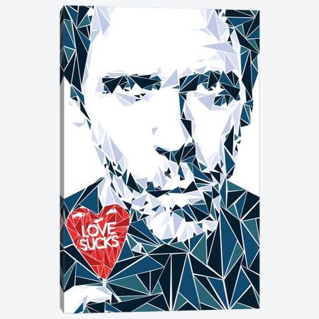 House MD - Love Sucks Canvas Print #MIE135} by Cristian Mielu Canvas Print