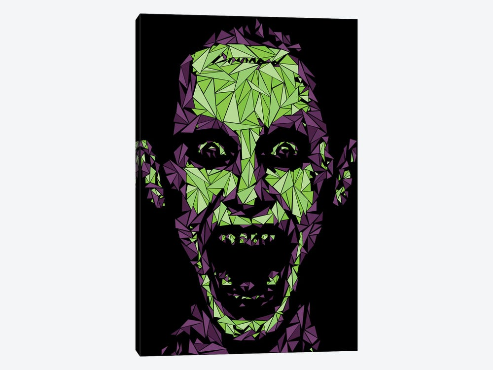 Damaged Joker by Cristian Mielu 1-piece Canvas Wall Art