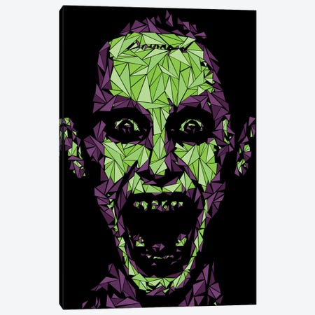 Damaged Joker Canvas Print #MIE137} by Cristian Mielu Canvas Print