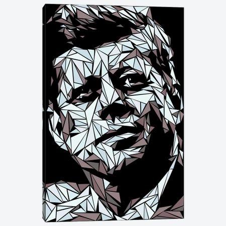 John Fitzgerald Kennedy Canvas Print #MIE139} by Cristian Mielu Canvas Art
