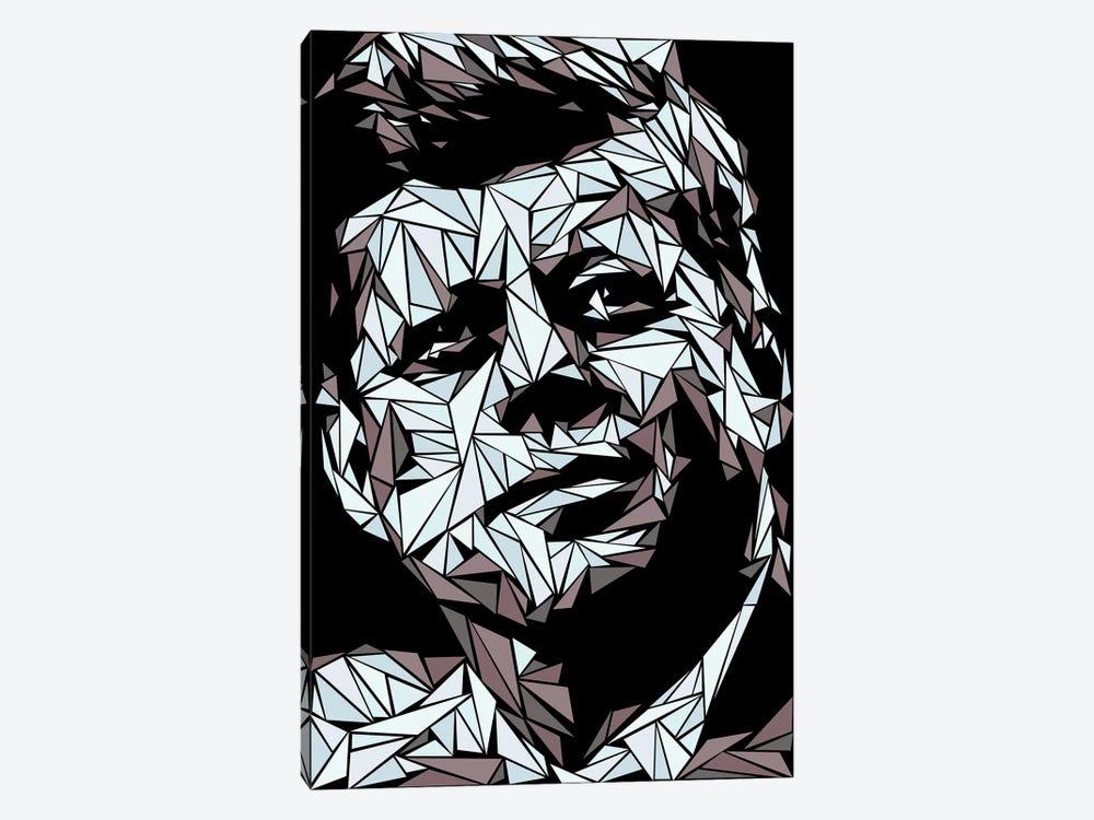 John Fitzgerald Kennedy by Cristian Mielu 1-piece Canvas Artwork