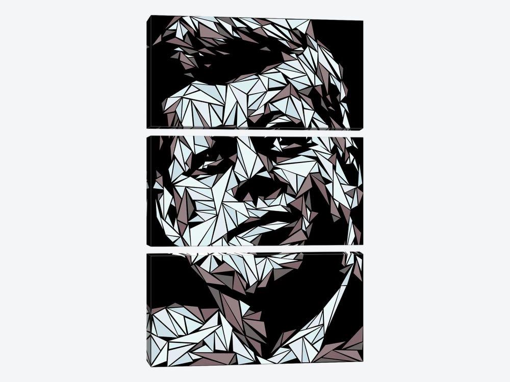 John Fitzgerald Kennedy by Cristian Mielu 3-piece Canvas Art