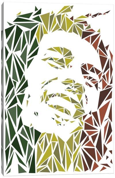 Bob Marley Canvas Print #MIE13