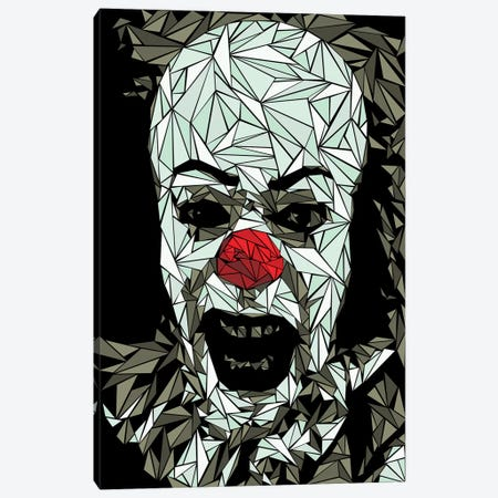 It Clown Canvas Print #MIE140} by Cristian Mielu Canvas Art Print