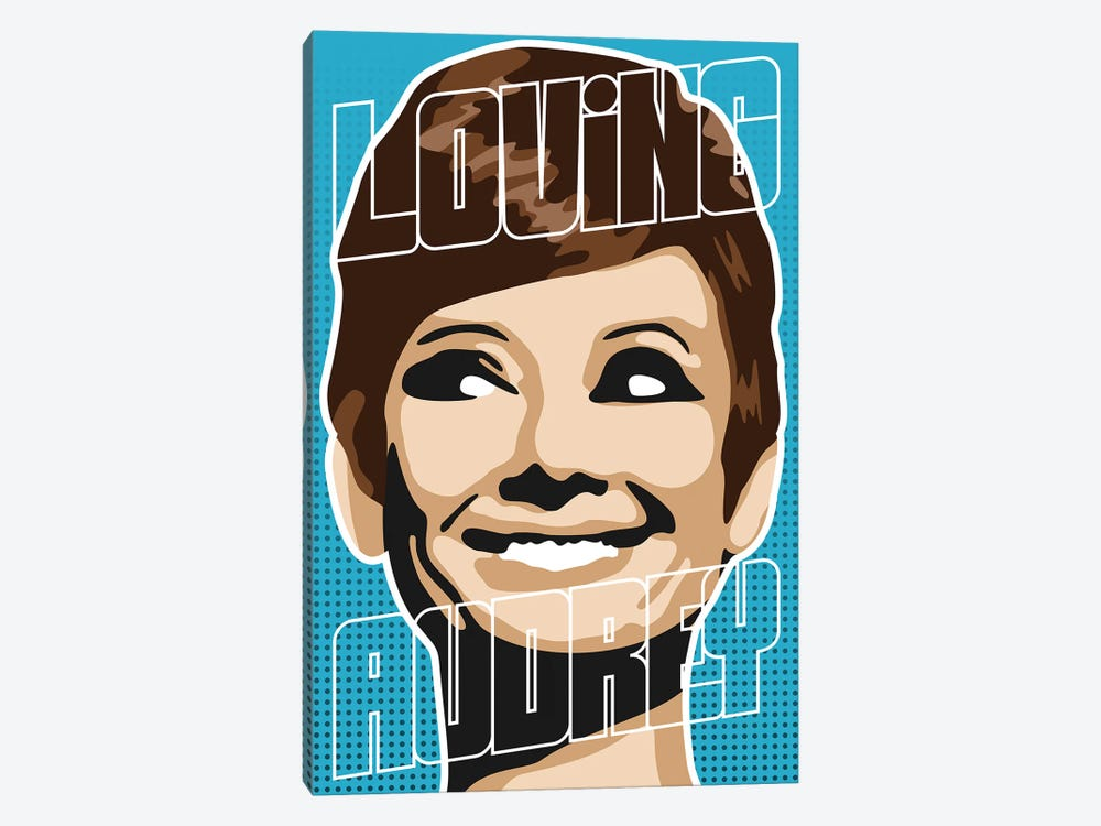Loving Audrey I by Cristian Mielu 1-piece Canvas Art Print