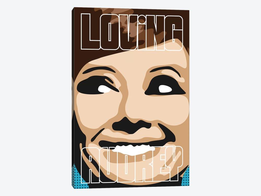 Loving Audrey II by Cristian Mielu 1-piece Canvas Artwork