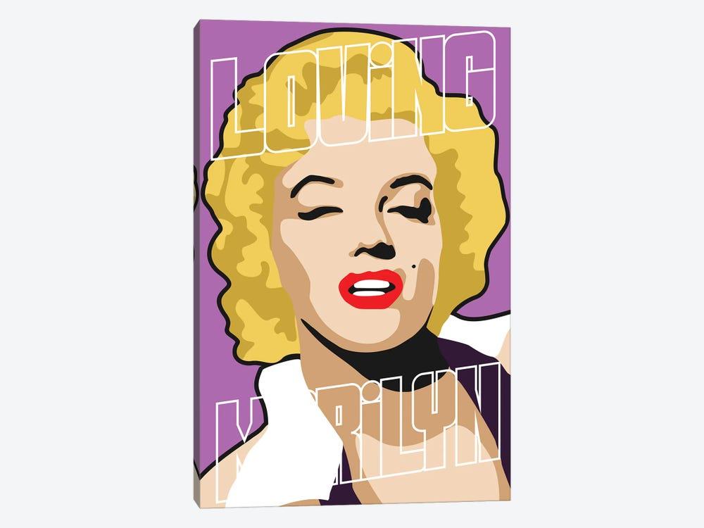 Loving Marilyn I by Cristian Mielu 1-piece Canvas Print