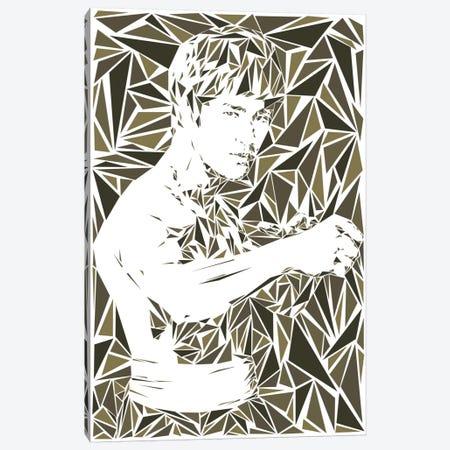 Bruce Lee Canvas Print #MIE14} by Cristian Mielu Canvas Print