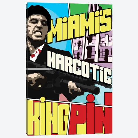 Miami's Narcotic Kingpin Canvas Print #MIE153} by Cristian Mielu Canvas Art