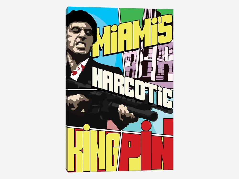 Miami's Narcotic Kingpin by Cristian Mielu 1-piece Canvas Artwork