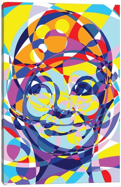 Audrey United Circles Canvas Art Print