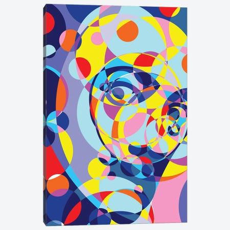 Dali United Circles Canvas Print #MIE158} by Cristian Mielu Canvas Art