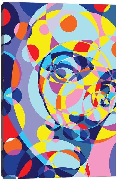 Dali United Circles Canvas Art Print