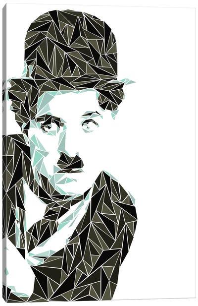 Charlie Chaplin I Canvas Art Print