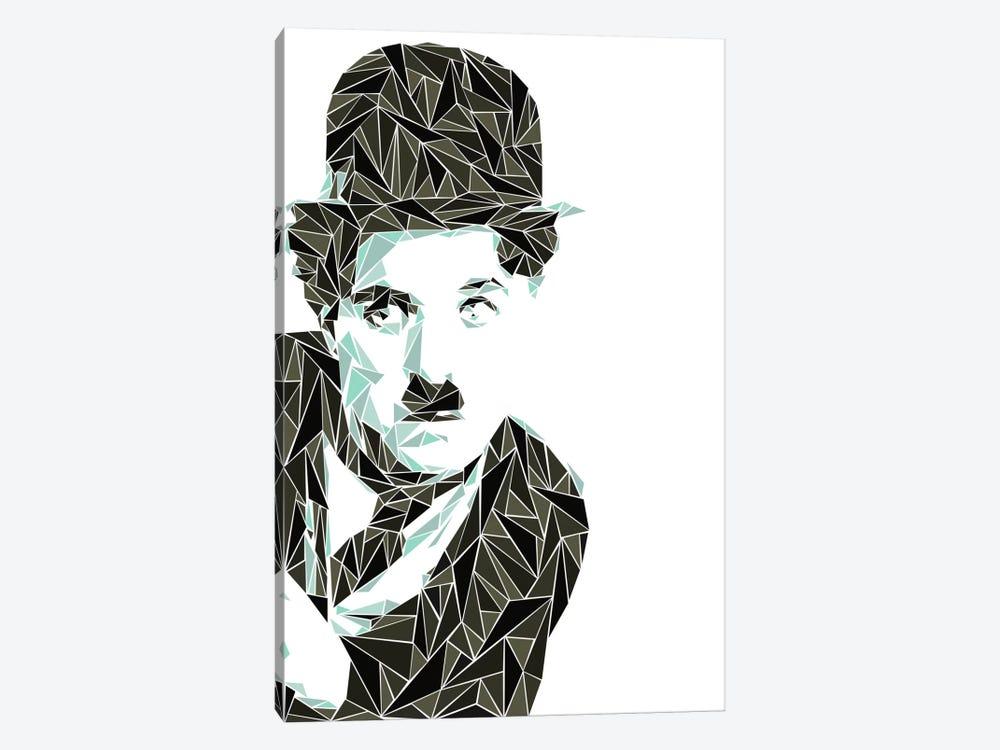 Charlie Chaplin I by Cristian Mielu 1-piece Canvas Artwork