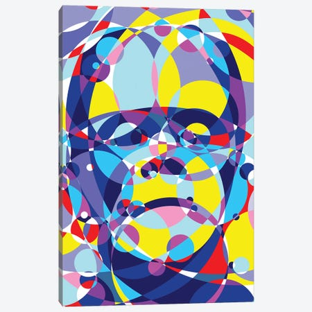 Frankenstein United Circles Canvas Print #MIE160} by Cristian Mielu Canvas Print