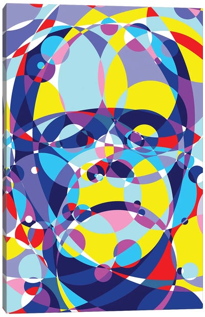 Frankenstein United Circles Canvas Art Print