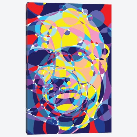 Godfather United Circles Canvas Print #MIE162} by Cristian Mielu Canvas Art Print