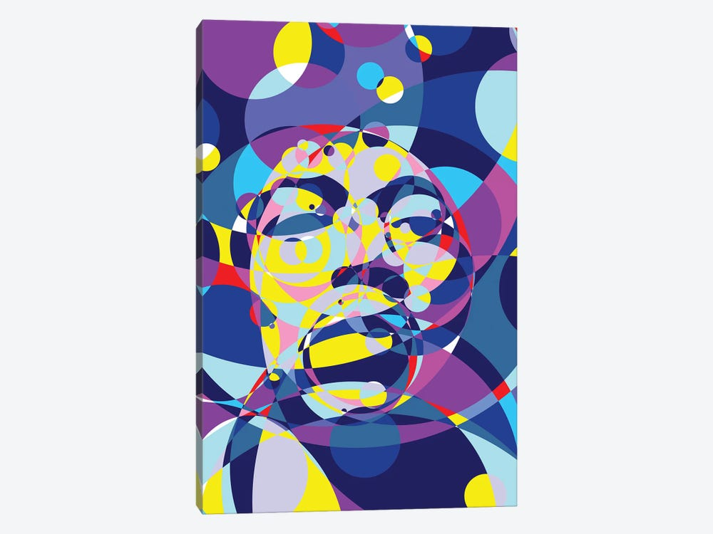 Jimi United Circles by Cristian Mielu 1-piece Canvas Print