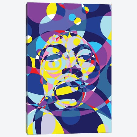 Jimi United Circles Canvas Print #MIE163} by Cristian Mielu Canvas Print