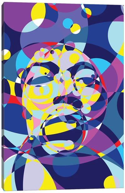 Jimi United Circles Canvas Art Print