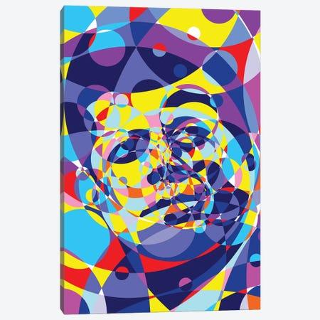 Jfk United Circles Canvas Print #MIE164} by Cristian Mielu Canvas Art