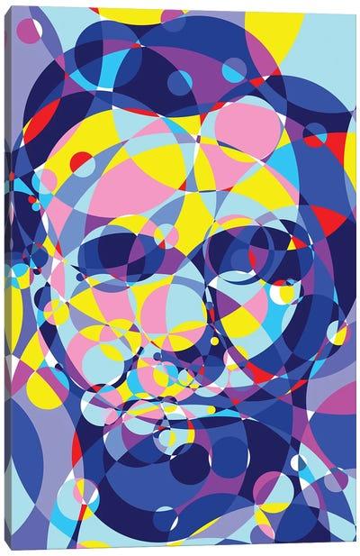 Abraham Lincoln United Circles Canvas Art Print