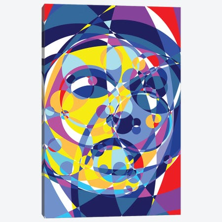 Scarface United Circles Canvas Print #MIE168} by Cristian Mielu Canvas Art Print