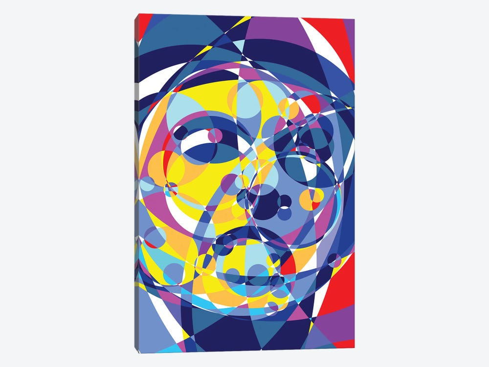 Scarface United Circles by Cristian Mielu 1-piece Canvas Art