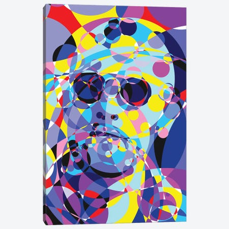 Taxi Driver United Circles Canvas Print #MIE169} by Cristian Mielu Canvas Art Print
