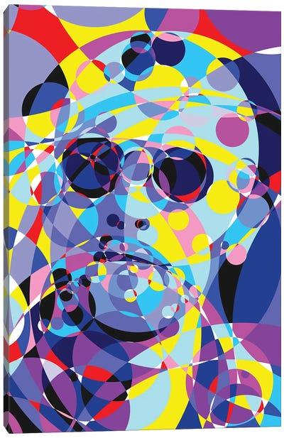 Taxi Driver United Circles Canvas Art Print