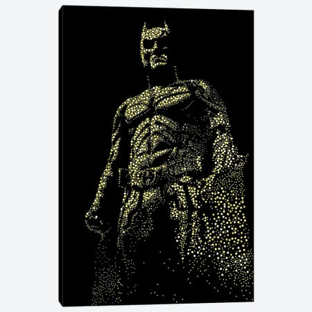 Dark Knight Canvas Print #MIE16} by Cristian Mielu Art Print