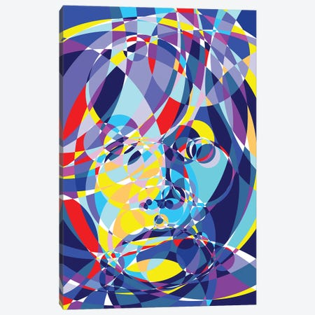 Warhol United Circles Canvas Print #MIE170} by Cristian Mielu Canvas Art