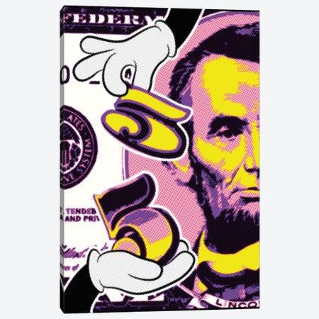 Abraham Raster Points II Canvas Print #MIE172} by Cristian Mielu Canvas Artwork