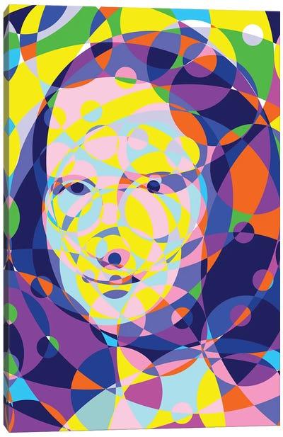 Mona Lisa United Circles Canvas Art Print