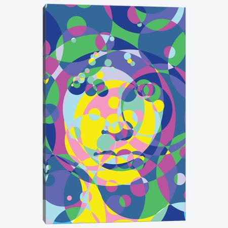 Morrison United Circles Canvas Print #MIE183} by Cristian Mielu Canvas Print