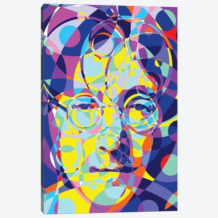Lennon United Circles Canvas Print #MIE184} by Cristian Mielu Canvas Art