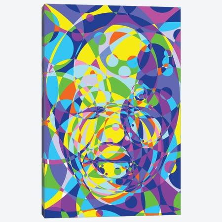 Mandela United Circles Canvas Print #MIE185} by Cristian Mielu Canvas Artwork