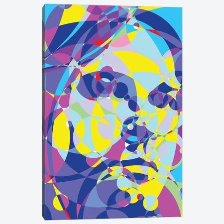 Kurt Colored Circles Canvas Print #MIE186} by Cristian Mielu Canvas Wall Art