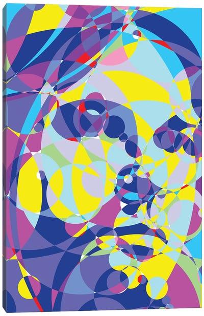 Kurt Colored Circles Canvas Art Print