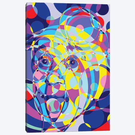 Albert United Circles Canvas Print #MIE187} by Cristian Mielu Canvas Art