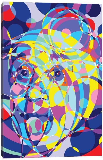 Albert United Circles Canvas Art Print