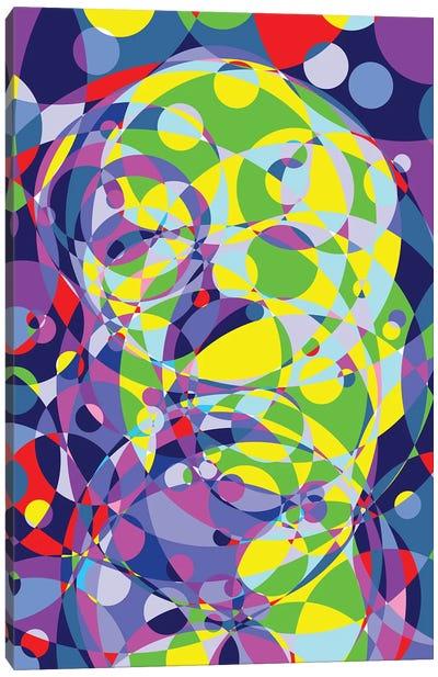 Alfred Colored Circles Circles Canvas Art Print