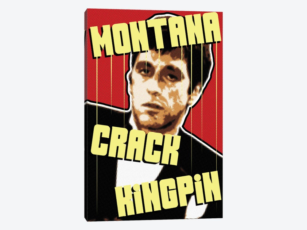 Montana Kingpin by Cristian Mielu 1-piece Canvas Art Print