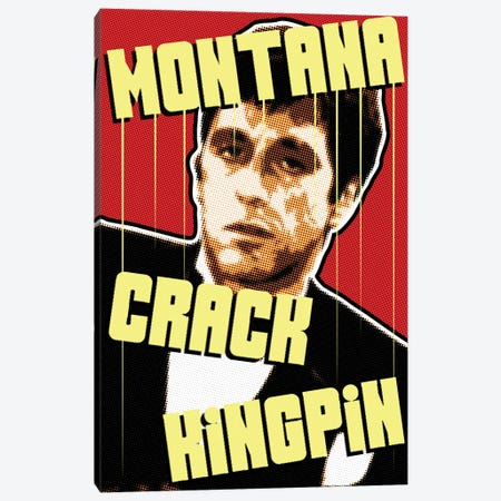 Montana Kingpin Canvas Print #MIE192} by Cristian Mielu Canvas Artwork